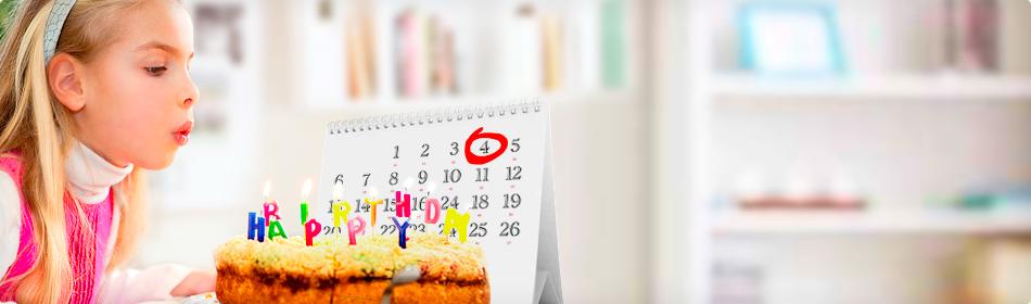 Сохраните важные семейные даты, дни рождения, свадьбы, крестины