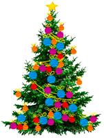 Виртуальная елка с поздравлениями